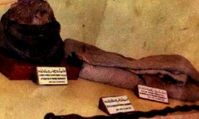 Selimut Nabi Muhammmad. (FOTO: Istimewa)