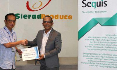 Sequis Berikan Perlindungan Asuransi Bagi 1.500 Karyawan Sierad Produce. (FOTO: NUSANTARANEWS.CO/Humas Sequis)