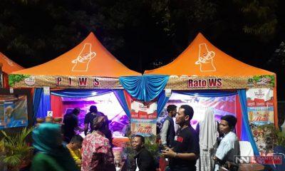 Stand WMS di Festival Kuliner Nusantara 2018 (Foto Mahdi Nusantaranews.co)