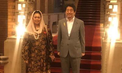 Yenny Wahid Bersama PM Jepang (Foto Dok. Istimewa)