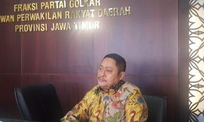 wakil ketua organisasi DPD Partai Golkar Jatim Kodrat Sunyoto. (FOTO: NUSANTARANEWS.CO/Setya)