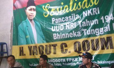 Anggota Komisi VI DPR RI Dapil Jateng X, Yaqut Cholil Qoumas. (FOTO: NUSANTARANEWS.CO/Ucok A.)
