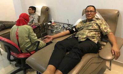 donor darah, sumbang darah, ayep zaki, donasi darah, isi ulang darah, stok darah nasional, ketersediaan darah, kebutuhan darah, nusantaranews