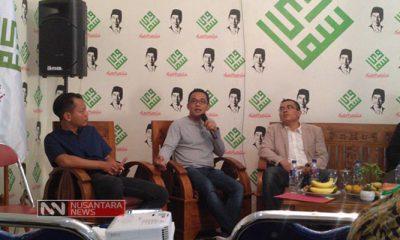 Diskusi yang Digelar Solidarita Ulama Muda Jokowi (Foto NUSANTARANEWS.CO/Romadhon)