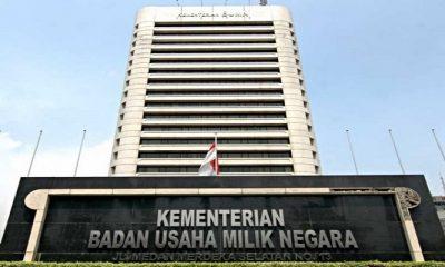 Gedung Kementerian BUMN. (Istimewa)