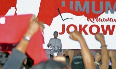 Jokowi Saat Sambutan di Sentul (Foto Dok. Antara)