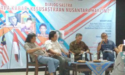 kesusastraan nusantara, sasrta reboan, kesenian nusantara, penyair nusantara, seniman indonesia, seniman malaysia, dialog sastra nusantara, nusantaranews