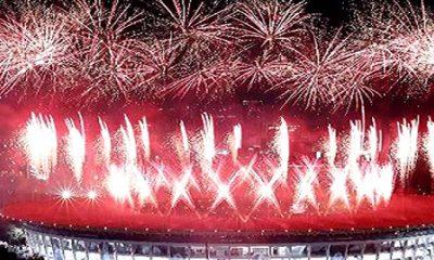 malam pembukaan Asian Games 2018 yang berlangsung di Gelora Bung Karno (GBK) begitu meriahdan antusias