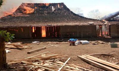 ponorogo, rumah ponorogo, warga ponorogo, dukuh ngemplak, kecamatan sawo, kabupaten ponorogo, kebakaran ponorogo, nusantaranews