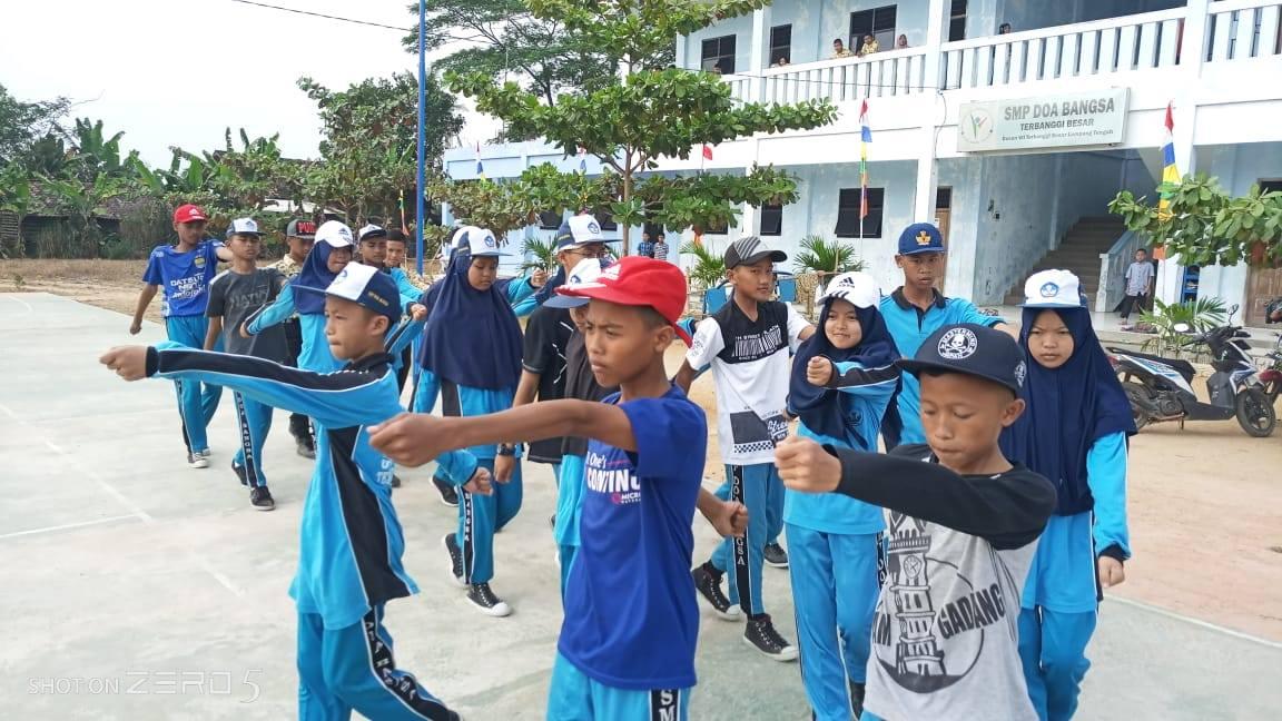kegiatan ekstra siswa doa bangsa