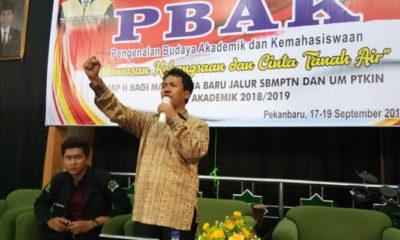 Akhmad Mujahidin Rektor UIN Syarif Kasim Riau (Foto Istimewa)
