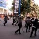 Aksi Mahasiswa di Medan. (FOTO: NUSANTARANEWS.CO)