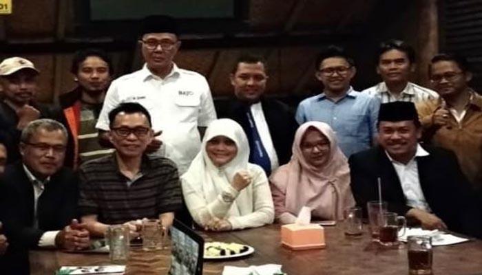 Asep Syaripudin Saat Ikut Menghadiri Acara Sosialisasi PT LEU MART (Foto Dok. Nusantaranews.co)