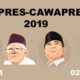 Pasangan Capres Cawapres 2019 (Foto Dok. Nusantaranews)