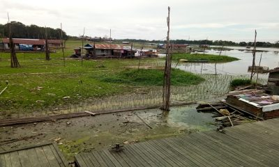 danau jempang, kutai barat, kaltim, kekeringan kaltim, warga kaltim, danau terluas kaltim, sungai mahakam, nusantaranews