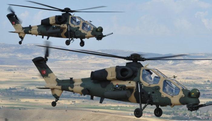 Helikopter Attack T129 (Foto Istimewa)