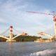 Infrastruktur Jembatan Pulau Balang Kaltim. (FOTO: Dok. Kaltim Post)