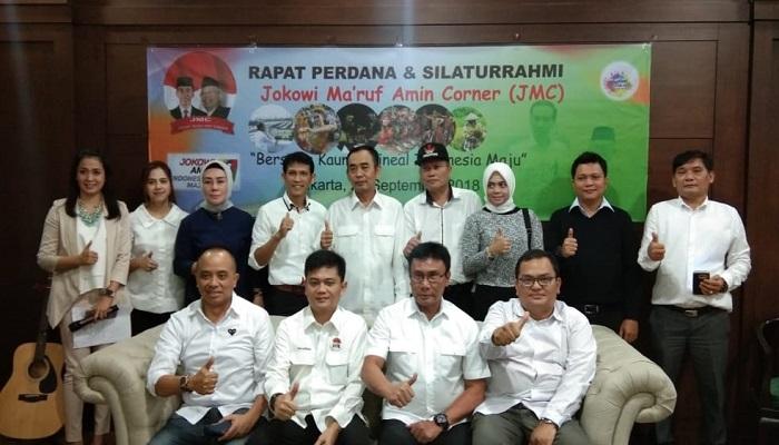 jmc, relawan jokowi, jokowi-ma'ruf corner, rapat jmc, silaturahim jmc, pemilih milenial, indonesia maju, jokowi-ma'ruf, nusantaranews, nusantara news, nusantara