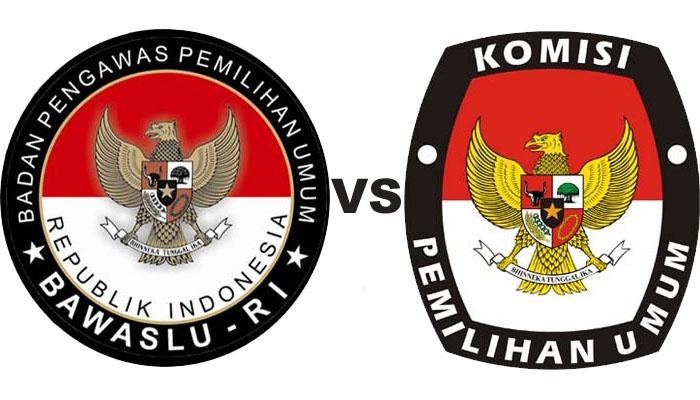 KPU vs Bawaslu (Ilustrasi)