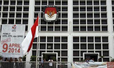 Kantor KPU (Komisi Pemilihan Umum)