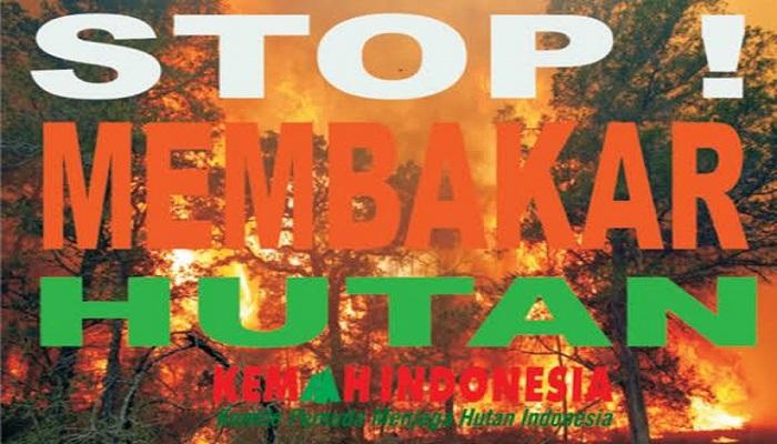 Kemah Indonesia menjaga hutan Indonesia berasma Jokowi dari kebakaran. (Ilustrasi: NUSANTARANEWS.CO/KI)