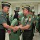 Kepala Staf Angkatan Darat (Kasad) Jenderal TNI Mulyono pada laporan kenaikan pangkat 34 perwira tinggi (Pati) TNI AD di Markas Besar Angkatan Darat, Jakarta, Rabu (5/9/2018). (FOTO: Singgih Pambudi/NN)