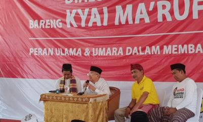Ngobrol Santai Bareng Kiai Ma'ruf Amin (Foto Dok. Nusantaranews)