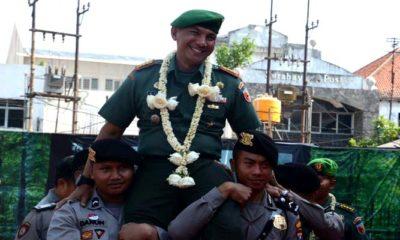 kolonel zulkifli, korem 084, korem bhaskara jaya, irdam VI tanjungpura, polrestabes surabaya, kolonel sudaryanto, polrestabes surabaya, nusantaranews, nusantara news