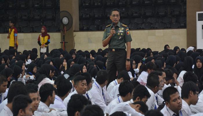 masa depan indonesia, generasi muda, generasi penerus, generasi bangsa, danrem 083, universitas brawijaya, mahasiswa unibraw, maba unibraw, nusantaranews, nusantara, nusantara news