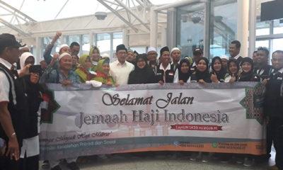 jamaah haji indonesia, jamaah haji, kloter haji indonesia, menteri agama, lukman hakim saifuddin