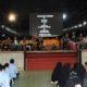 Menteri Pertahanan RI Ryamizard Ryacudu memberikan ceramah kepada para Mahasiswa-mahasiswi dan Dosen Universitas Islam Negeri Raden Fatah Palembang. (FOTO: Dok. Kemhan)