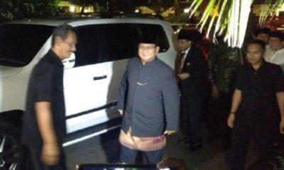 Prabowo Subianto menghadiri Haul ke 11 Presiden RI ke 2 Soeharto. (FOTO: Istimewa)