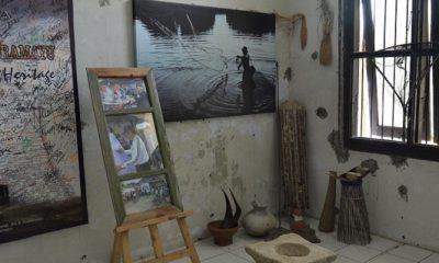 Salah satu ruangan beserta isinya di Museum Bandar Cimanuk. (FOTO: Blogger Mangga)