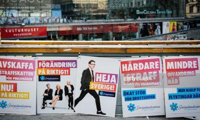 Suasana Jelang Pemilu Swedia 2018 (Foto Dok. Getty Image)