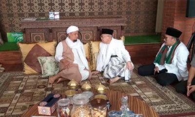 Ustad Arifin Ilham Saat Menjamu Kiai Ma'ruf Amin