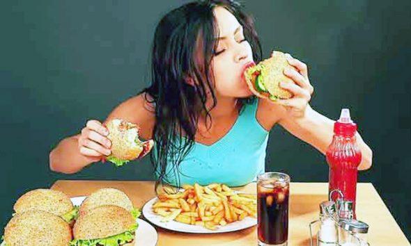 Konsumsi makanan instan (junk food). (Foto: Ist)