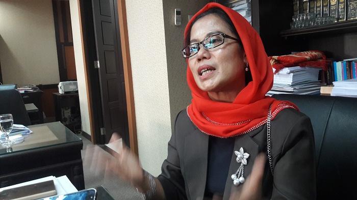 Anggota Komisi C DPRD Jatim Sri Untari. (FOTO: NUSANTARANEWS.CO/Setya)