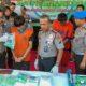 Kapolda Jawa Timur (Jatim) Irjen Pol Luki Hermawan mengatakan satrekoba Polrestabes Surabaya menangkap dua kurir pengedar narkotika jenis sabu dan ekstasi di daerah lokasi yang berbeda. (FOTO: NUSANTARANEWS.CO/Setya)