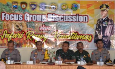 Focus Group Discusi (FGD) dan Safari Reyog Kamtibmas, Polres Ponorogo (Foto Dok. Nusantaranews)