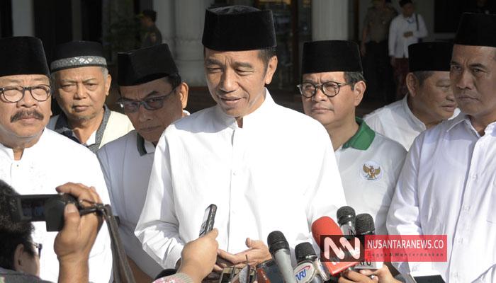 Jokowi Saat Berkunjung ke Jatim, Minggu (28/10/2018). (Foto: Tri Wahyudi/NUSANTARANEWS.CO)