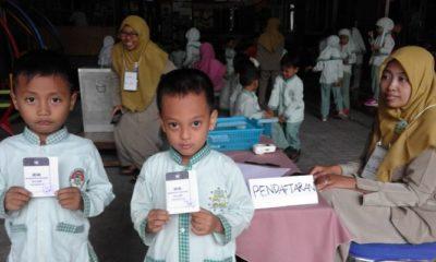 kb al azhar, anak usia dini, demokrasi, siswa kb al azhar, teacher favorite, pemilihan guru favorit, nusantara, nusantara news, nusantaranews