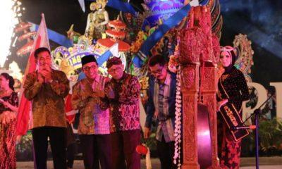 Kemeriahan Jatim Specta Night Carnival Ke V Tahun 2018 (Foto Dok. Nusantaranews)