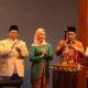 Ketua Umum Fatayat NU Anggia Ermarini (tengah) saat Pembukaan IYMWF. (FOTO: Istimewa)