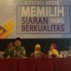 """Komisi Penyiaran Indonesia menyelenggarakan kegiatan Literasi Media """"Memilih Siaran Yang Berkualitas"""" di Hotel Lor in Solo Kab. Karanganyar. (FOTO: Istimewa)"""