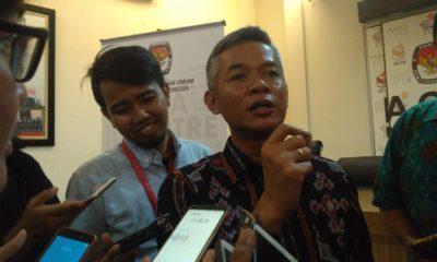 Komisioner KPU Wahyu Setiawan. (FOTO: NUSANTARANEWS.CO/Adhon)
