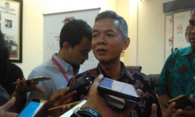 Komisioner Komisi Pemilihan Umum (KPU) Wahyu Setiawan. (FOTO: NUSANTARANEWS.CO/Adhon)