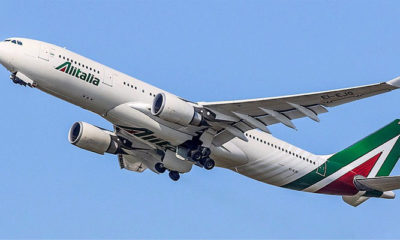 Maskapai National Flag Carrier Alitalia (Foto Media India Group)