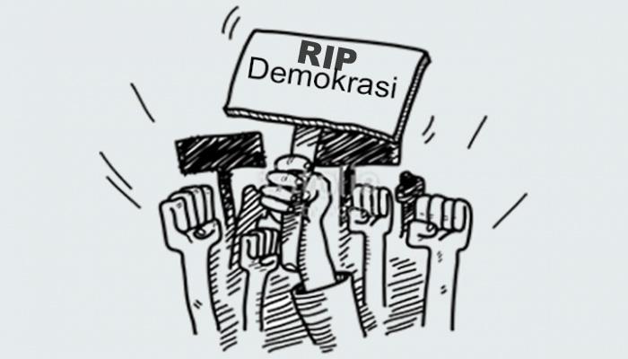 Matinya Demokrasi (Ilutrasi)