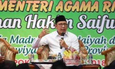 Menteri Agama Lukman Hakim Saifuddin. (FOTO: Dok. Kemenag)