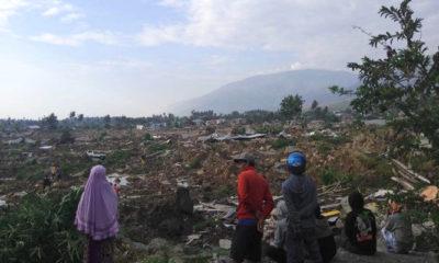Kondisi kerusakan di pesisir dan rumah sakit di Kota Palu. (Foto: BNPB)